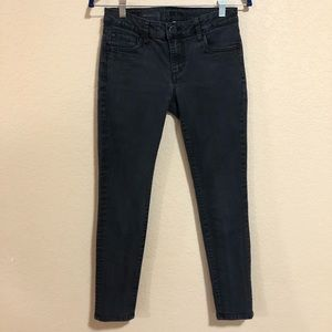 Kut From the Kloth Sz 0P Diana Gray skinny jeans